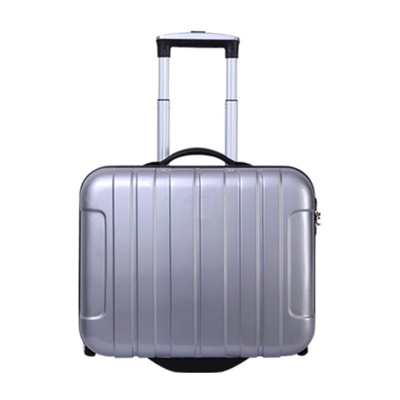 17寸 ABS PC拉桿箱行李箱可定製航空箱旅行箱定做拉桿箱萬向輪
