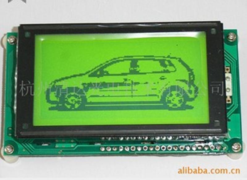 供应16080点阵 LC7981控制器 液晶LCD