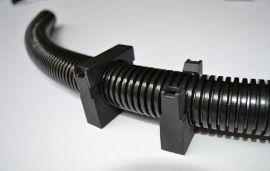 塑料波纹管带盖固定支架