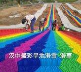 彩虹滑道,七彩坡,旱滑,山体滑道厂家陕西盛彩