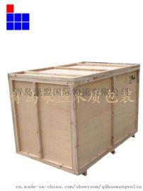 胶州定做免熏蒸木箱批发价供应定做尺寸规格厂家直销