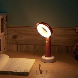 usb充電檯燈 學生護眼檯燈桌面臥室led小夜燈 創意禮品檯燈