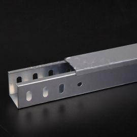 上海现货厂家直销槽式桥架铝合金50*50
