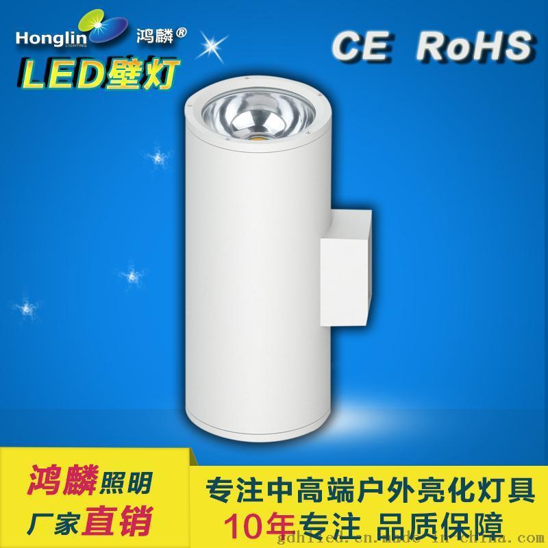 单头壁灯6w-LED大功率户外壁灯