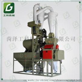 全自动全自动粮食磨面机 电动磨面机 对辊小麦打面机