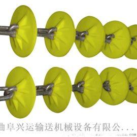 管链输送机链板环保 环型管链机