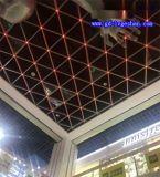 三角形铝格栅 丹东三角形格栅天花 动漫城铝格栅吊顶