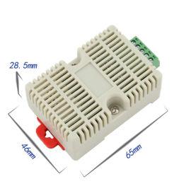 供应扁卡轨壳机房仓库配电柜485型温湿度变送器
