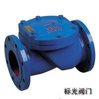 上海标光阀门、华钢、沪工、高乔 良工 橡胶板止回阀