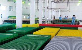 玻璃钢FRP拉挤格栅环保安装方便