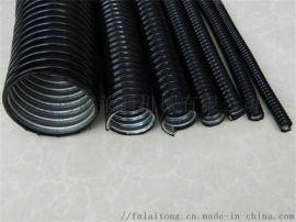 內鍍鋅蛇皮管外包阻燃PVC福萊通廠家直銷 質量穩定