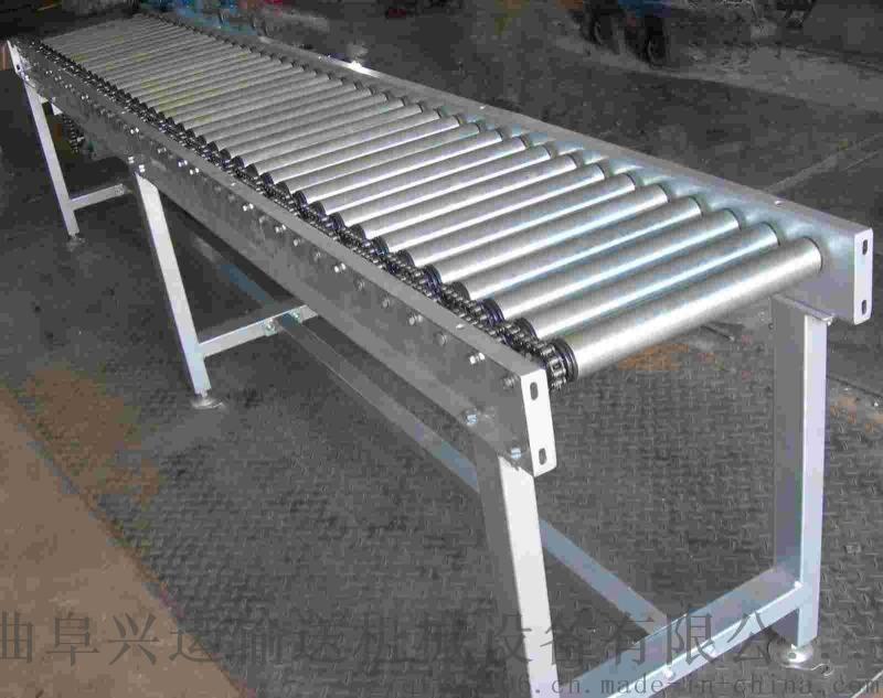 動力滾筒線鋁型材 傾斜輸送滾筒