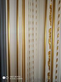 中国金色边石膏制品广州星洋手工石膏线条厂批发生产