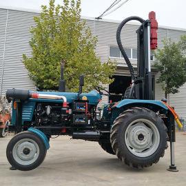 150米水井钻机价格 气动钻井机 小型民用水井钻机