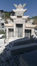 四川宜宾寿山石、水泥制品装饰坟墓模具
