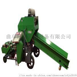 青贮打捆机 玉米秸秆青贮打捆机
