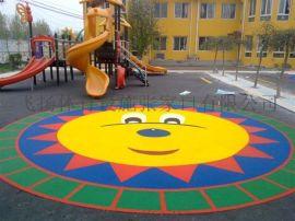 幼儿园塑胶地面专业供应