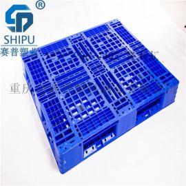 塑料托盘叉车垫板防潮栈板长方形仓库地台板