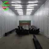 大型伸縮式噴漆房 環保伸縮噴漆房 定做伸縮房