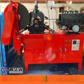 重庆桥梁波纹管制管机钢管镀锌管成型设备扁管机