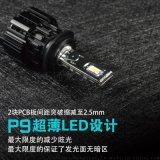 大功率超薄配光LED前大燈