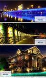 低壓外控戶外工程LED洗牆燈防水可調光單色七彩