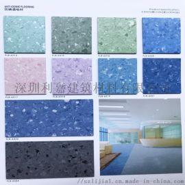 无方向同质透心胶地板 耐磨塑胶地板生产厂家