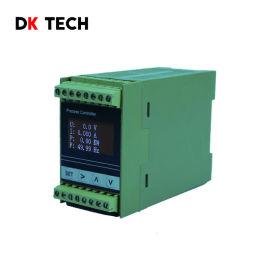 DK61DND单相真有效值交流多功能表导轨安装