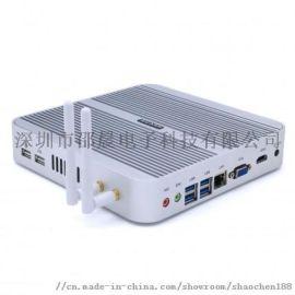 赛扬N3050双网口迷你电脑小主机工控设备