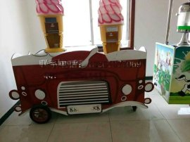 油炸冰淇淋小吃车,电动早餐车,帮您找到致富之路
