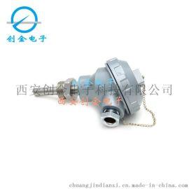 温度传感器 插入一体化 温度变送器PT100热电阻