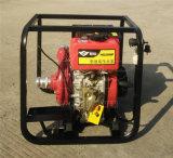 手推式2寸鑄鐵柴油高壓泵