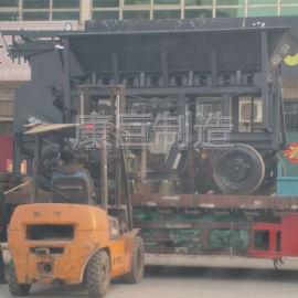 大型煤矸石粉碎机石块建筑垃圾粉碎机