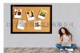 進口實木軟木牆板牆留言板公告欄照片照片展示牆釘板