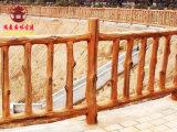 防腐木栏杆厂,四川防腐木栏杆定制安装厂家