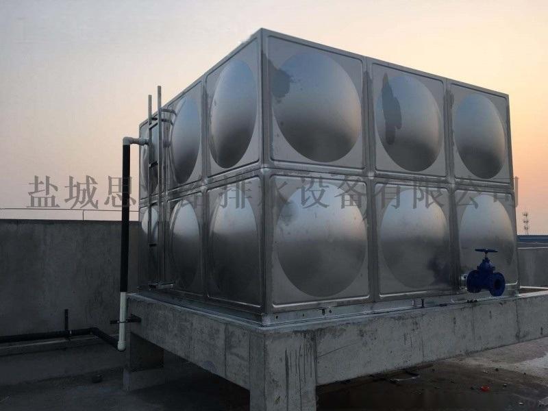 吉林不锈钢无焊接不锈钢水箱 包安装