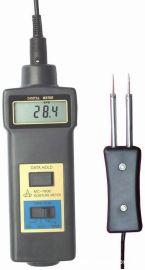 青岛木屑水份仪,竹木粉水分仪价格,插针式木材水分仪MC7806