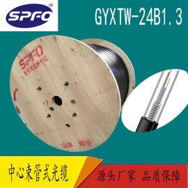 【太平洋】GYXTW-24B1 24芯单模光纤 中心束管式  室外光缆  直销