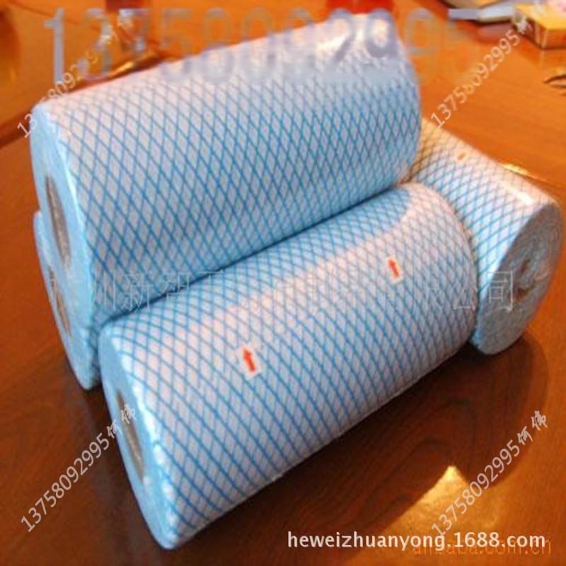 供應出口韓國珍珠棉抹布_點斷_無紡布_打斷卷無紡布生產廠家