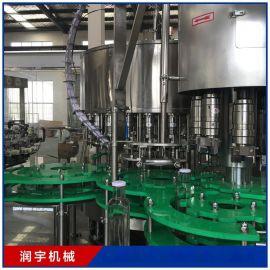 张家港润宇机械厂家定制 全自动果汁灌装机生产线设备 饮料机械