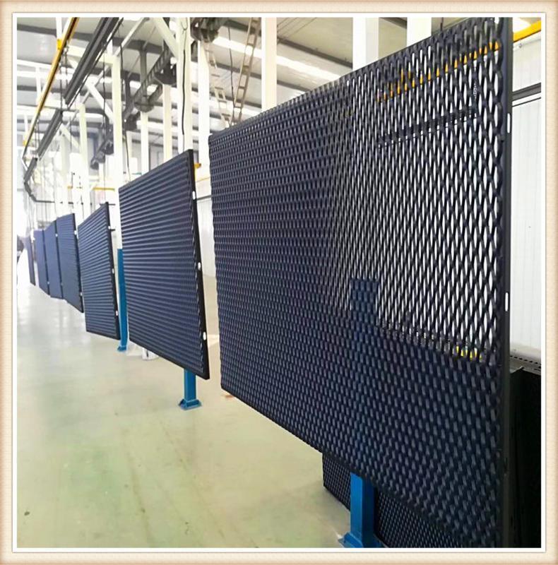 不锈钢钢板网 菱形钢板网 菱形网 中型钢板网