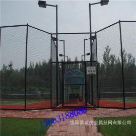 供应体育场围网  运动场护栏网  绿色包胶防护网