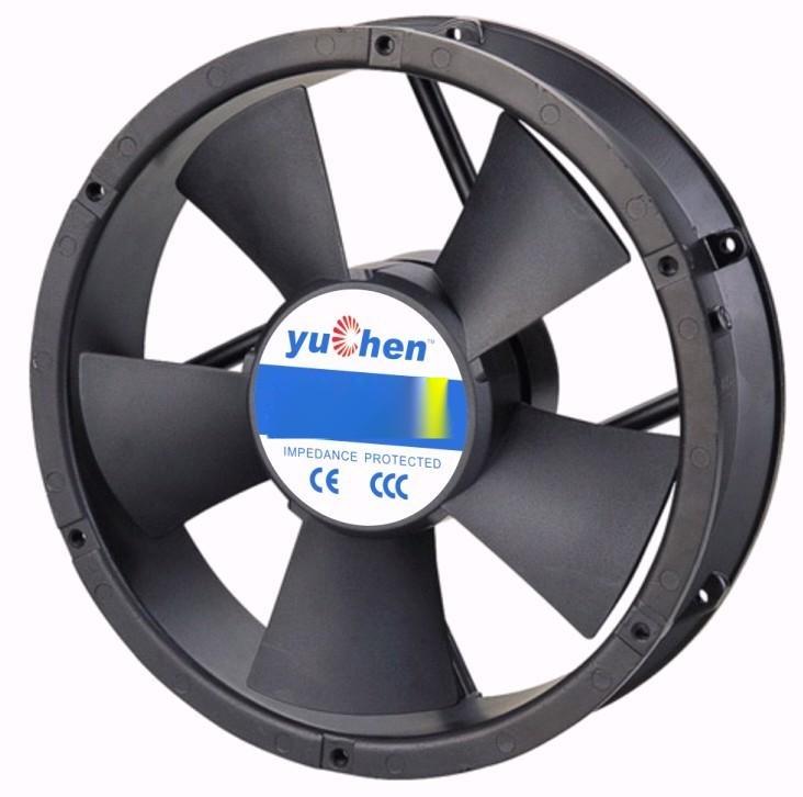 yuchen22060圆形交流散热风扇