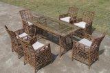 新款藤制餐桌椅 ,户外花园家具 休闲编藤桌椅(KY-2153)
