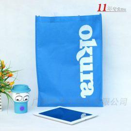 订制定做球纹购物服装礼品环保袋通用包装手提无纺布袋子厂家批发