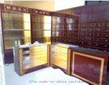 四川药柜提供成都中药柜,药店货架,药房展柜