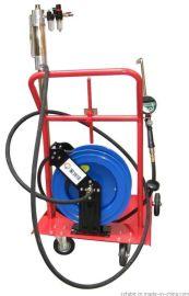 重型移动式气动抽注油机 200升油桶专用数显加注机含计量油枪 油泵 卷管器