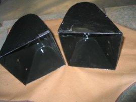 提升机料斗加工厂家、搪瓷料斗、搪瓷衬板批发价格低
