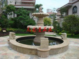 供应优质石雕欧式水钵, 特色水钵 ,花园庭院喷水池石雕摆件