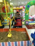 2015年最火遊樂項目 萬把塊的兒童挖土機就是你的挖錢機 鄭州恆泰華兒童挖土機批發